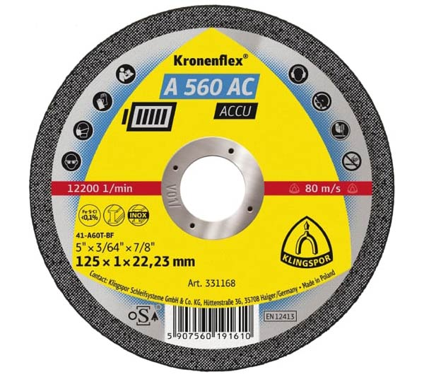 A 560 AC ACCU Klingspor