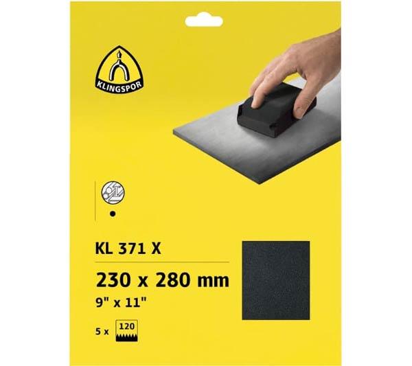 KL 371 X set Klingspor
